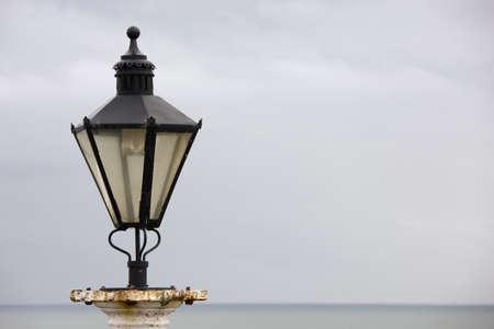 Old street light on the beachfront Stock Photo - 7193995