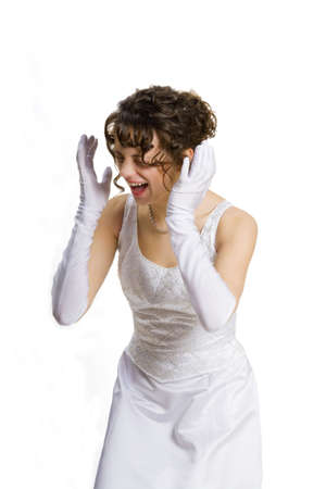 bridesmaids: Angry bride