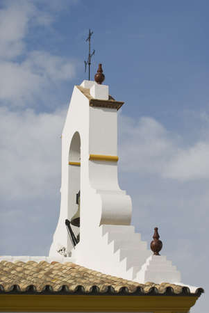 Andalucia, Spain; Church bell tower against sky Stock Photo - 7189932