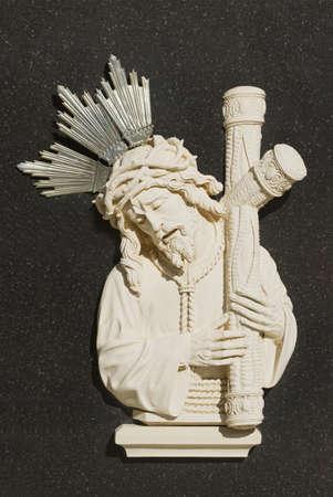 Religious icons in Spanish cemetery Stock Photo - 7195276