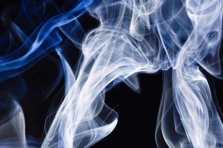 wafting: Smoke patterns Stock Photo