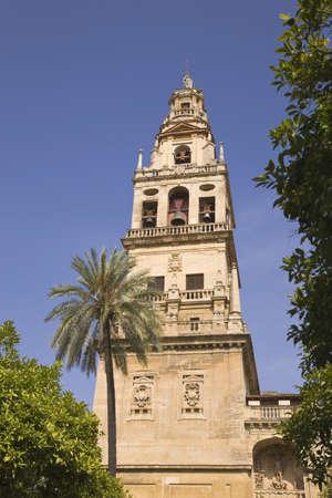 Cordoba, Cordoba Province, Spain; Torre del Alminar of the Great Mosque Stock Photo - 7198241