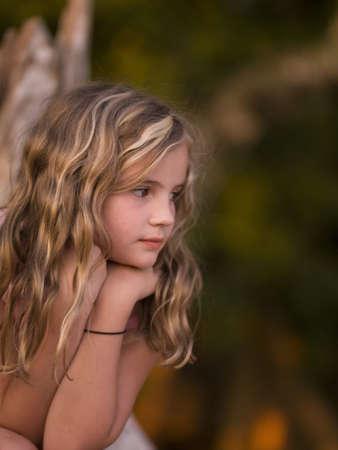 levit: Portrait of girl