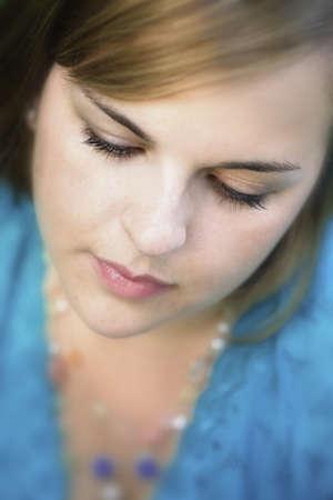 Portrait of a young woman Banco de Imagens