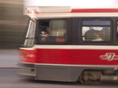 Streetcar, Toronto, Ontario, Canada photo