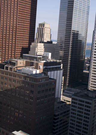 financial institutions: Skyscrapers, Toronto, Ontario, Canada