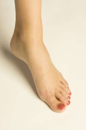 bodypart: A womans foot