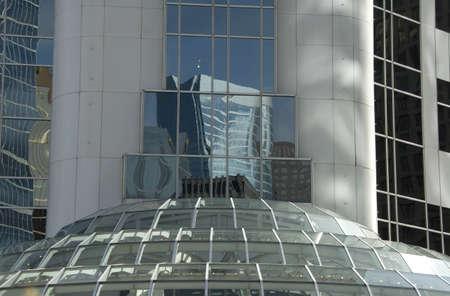 highrises: Vancouver, British Columbia, Canada; building Stock Photo