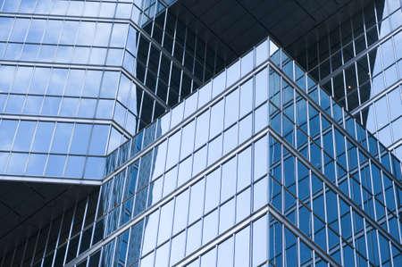 levit: Toronto, Ontario, Canada; Glass building Stock Photo