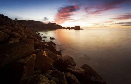Sunset shores Stock Photo - 7194636