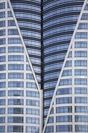 chris upton: Bangkok, Thailand; Downtown skyscraper Stock Photo