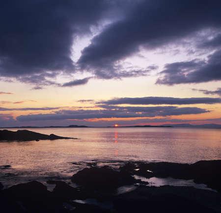 evenings: Sunset, Kintyre, Argyll and Bute, Scotland Stock Photo