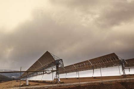 Solar collector, Exfiliana, Granada, Spain Stock Photo - 7198305