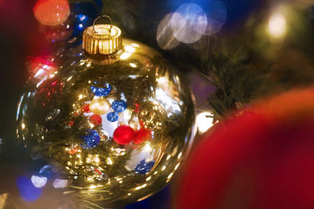 knorr: Christmas ornaments Stock Photo
