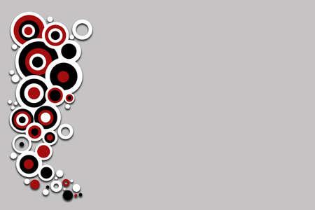 hintergr�nde: Retro Kreis design  Lizenzfreie Bilder