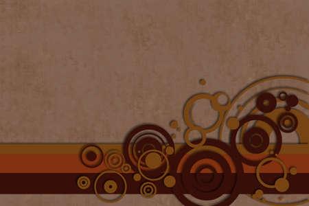 Retro circle background photo