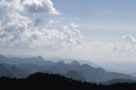 Mountains of eastern Burma
