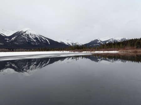 Winter landscape, Banff National Park, Alberta, Canada Stock Photo - 7193599