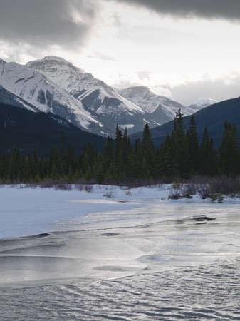 Winter landscape, Banff National Park, Alberta, Canada Stock Photo - 7195018