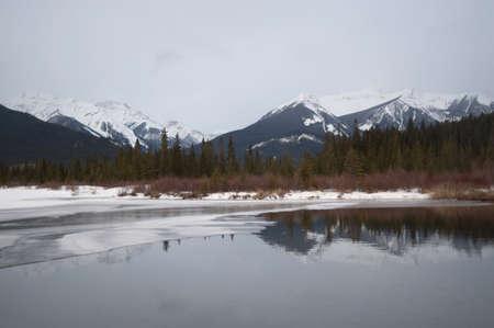 Winter landscape, Banff National Park, Alberta, Canada Stock Photo - 7191466