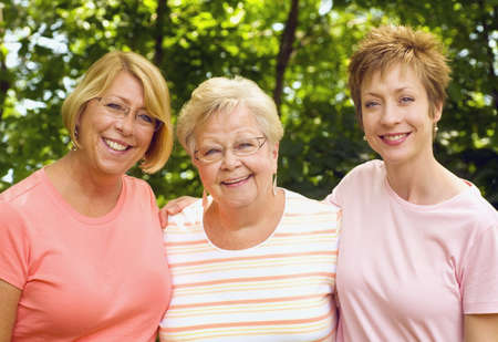 Mother and two daughters Stock Photo - 7194414