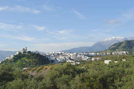 Village of Alozaina, Malaga, Andalucia, Spain Stock Photo