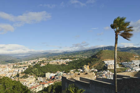 View of the city, Malaga, Andalucia, Spain Stock Photo - 7195079
