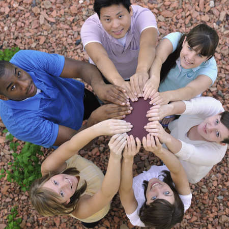 A diverse group of young adults Stock Photo - 7192990