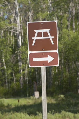 site: Sign for a picnic site