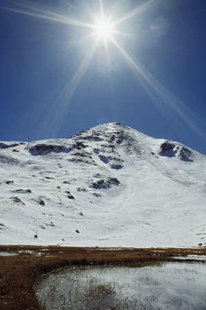 Sunburst, Houghton Mountain, San Juan Mountains, Colorado, USA Stock Photo - 7191320