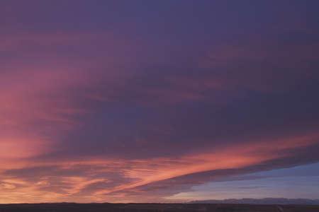 Chinook clouds at sunrise, Calgary, Alberta, Canada Stock Photo - 7189641