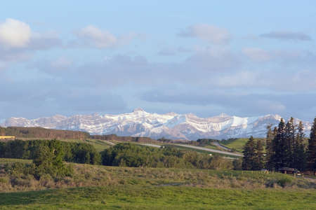 front range: Front Range mountains Stock Photo