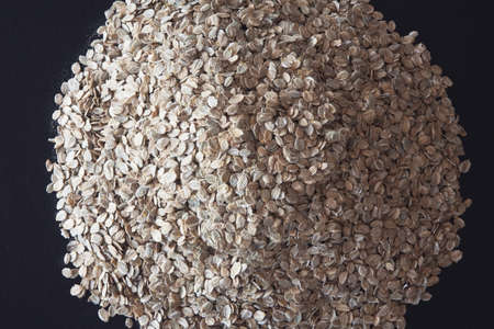 pile of rye flakes Stock Photo - 7191435