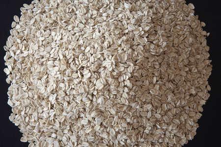 calgary, alberta, canada; pile of oat flakes Stock Photo - 7191394