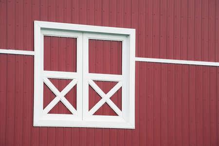 white trim: alberta, canada; red barn and white trim
