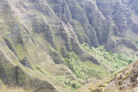 na pali coast state park, kauai, hawaii, usa photo