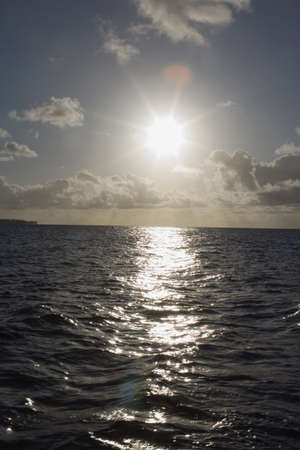 lake fronts: pacific ocean, south kauai, hawaii, usa