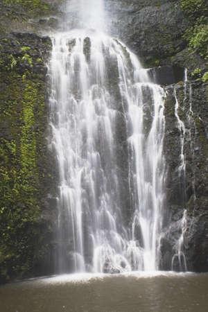 waterfall, hana, maui, hawaii, usa