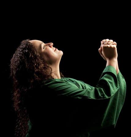 woman praying Stock Photo - 7189976