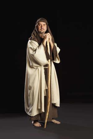 man depicting joseph photo