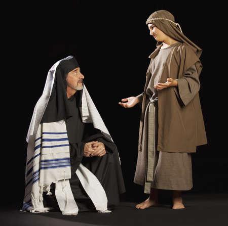 preteen boy: jesus jeunes et un grand pr�tre.