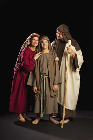 mary, joseph and young jesus Stock Photo - 7190197