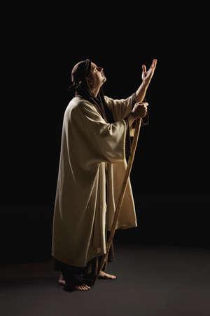 venues: joseph praying Stock Photo