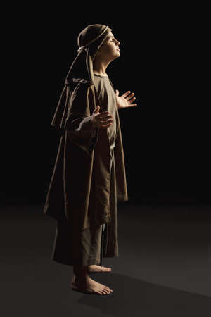 young jesus praying photo