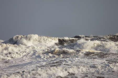 inclement weather: crashing waves