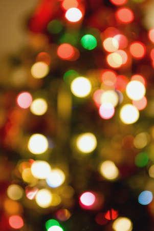 de gloed van gekleurde lampen  Stockfoto