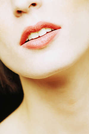 Womans mouth