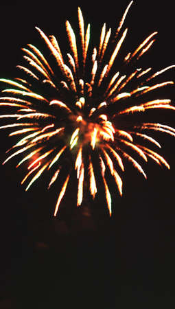 combust: Red fireworks