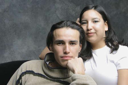 aborigen: Retrato de una pareja
