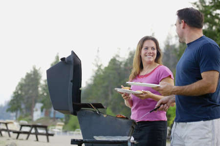 Een barbecue Stockfoto - 7191737